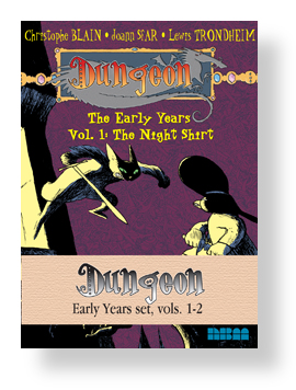 DUNGEON: Early Years set Vols. 1,2